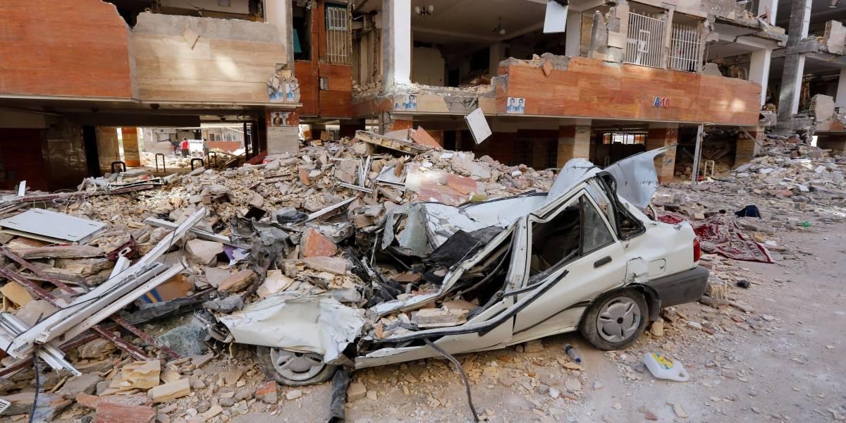 Se eleva a 530 la cifra de muertos tras el terremoto entre Irak e Irán