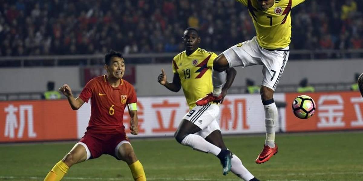 Colombia pasó el experimento y goleó a China en su gira oriental