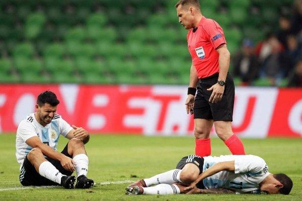 Goles de Argentina 2-4 Nigeria en partido amistoso