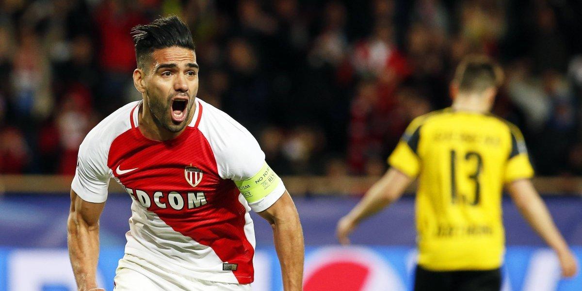 El golazo de Falcao que apunta a su regreso a la titular del Mónaco