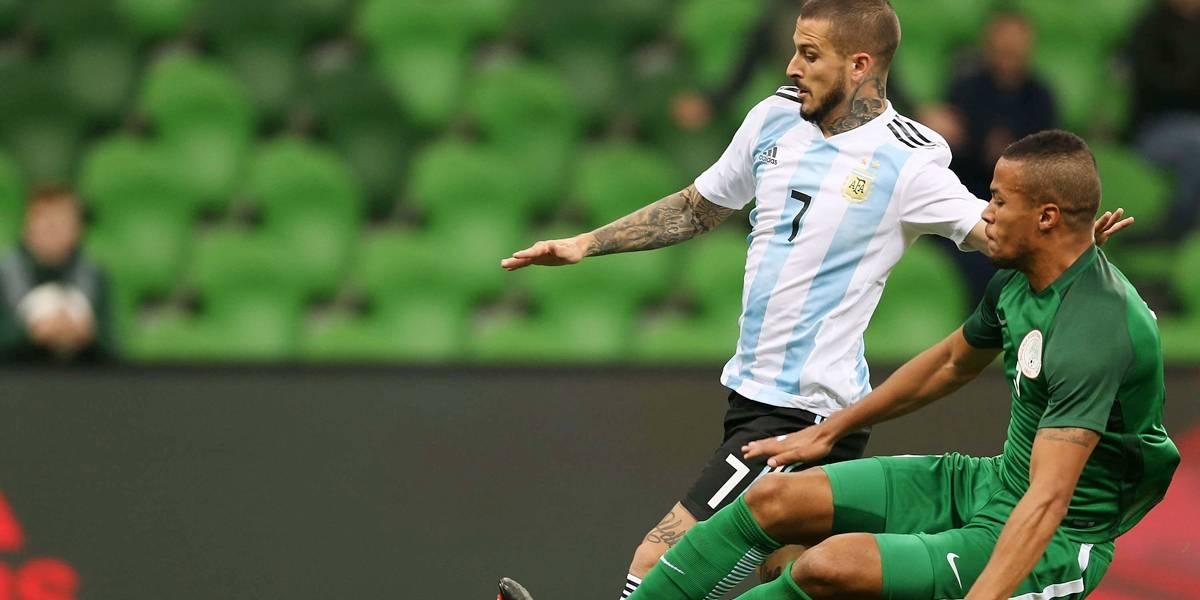 Sem Messi, Argentina toma virada e leva quatro da Nigéria em amistoso