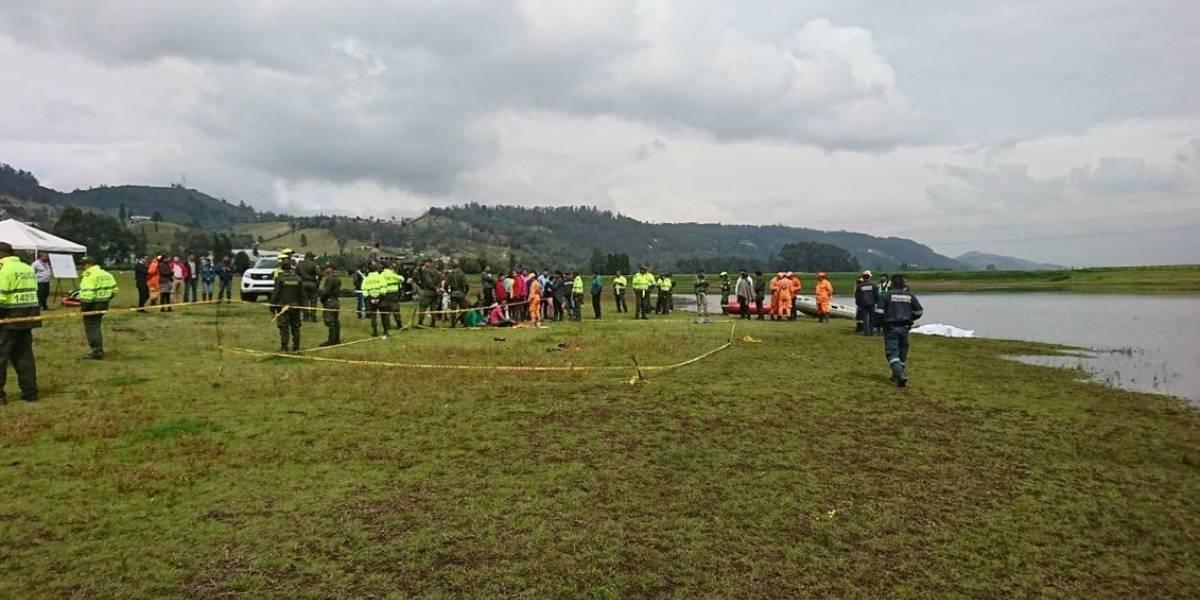 Encuentran los cuerpos de dos menores que cayeron al embalse del Muña