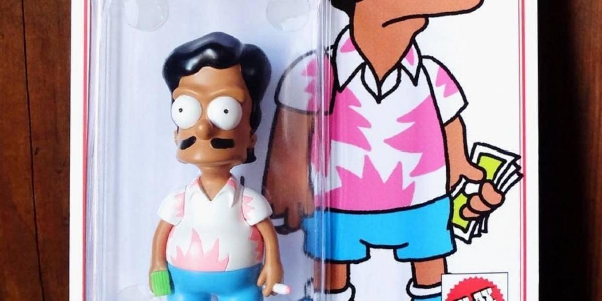 El muñeco de Los Simpson que indigna a los colombianos