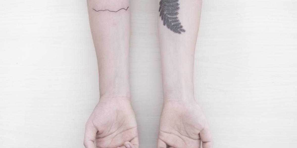Mar Negro, diseño y arte en la sutileza de un tatuaje