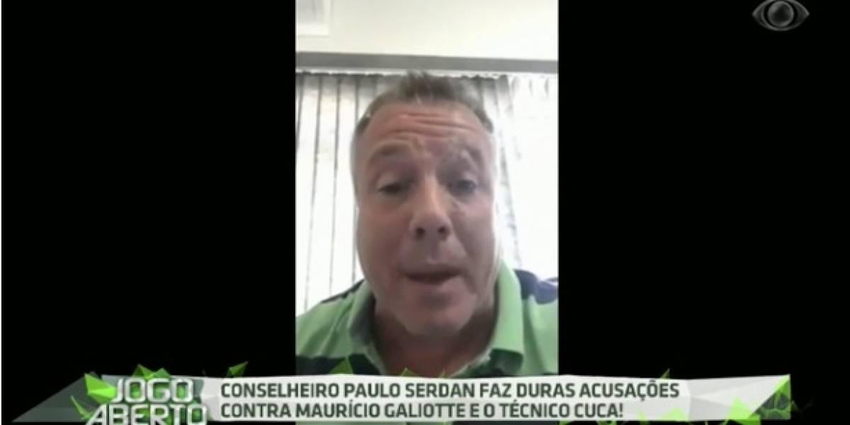 Conselheiro do Palmeiras faz acusações a Cuca e Galiotte