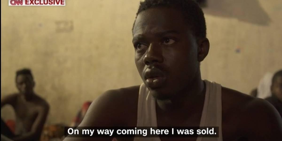 TV flagra leilão de africanos como escravos na Líbia