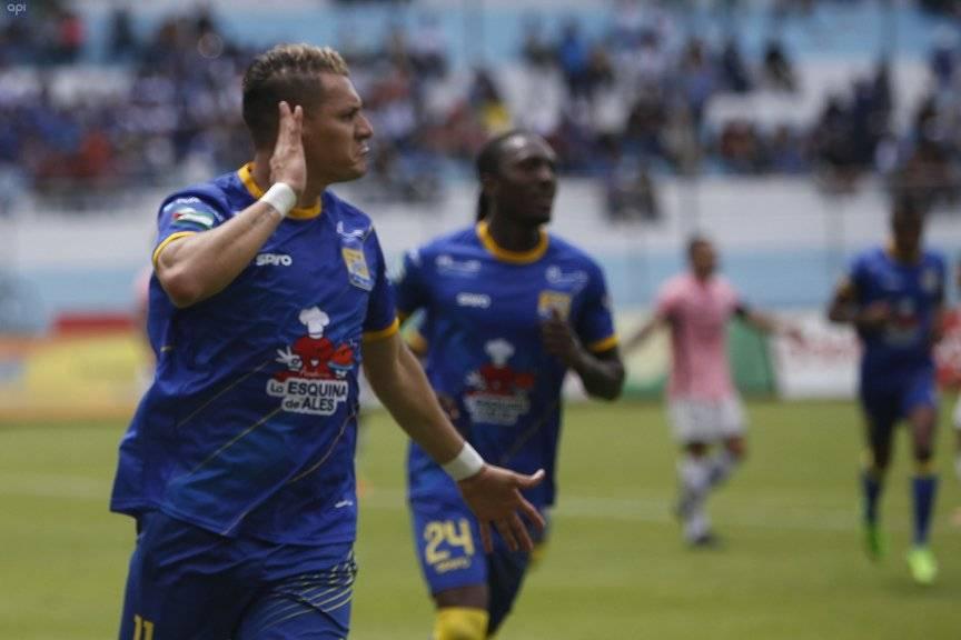 Carlos Garcés será baja en Delfín por lesión API