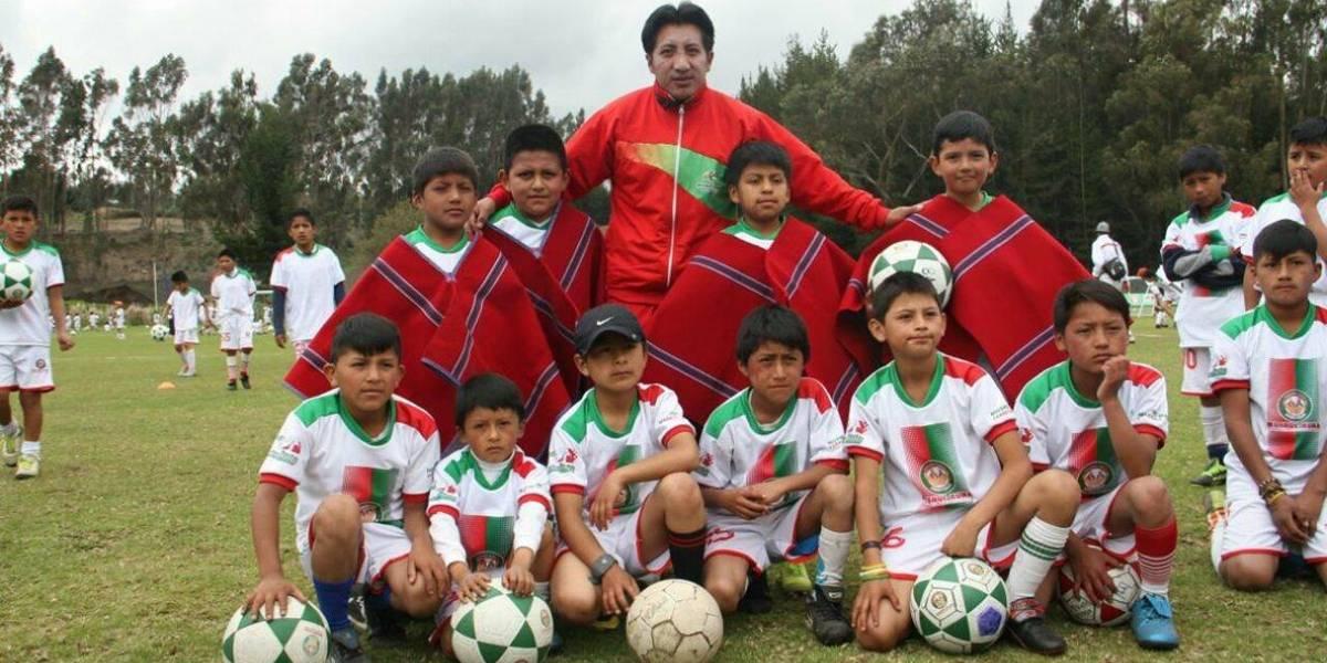 Héctor Chacha, huella indígena en el fútbol ecuatoriano