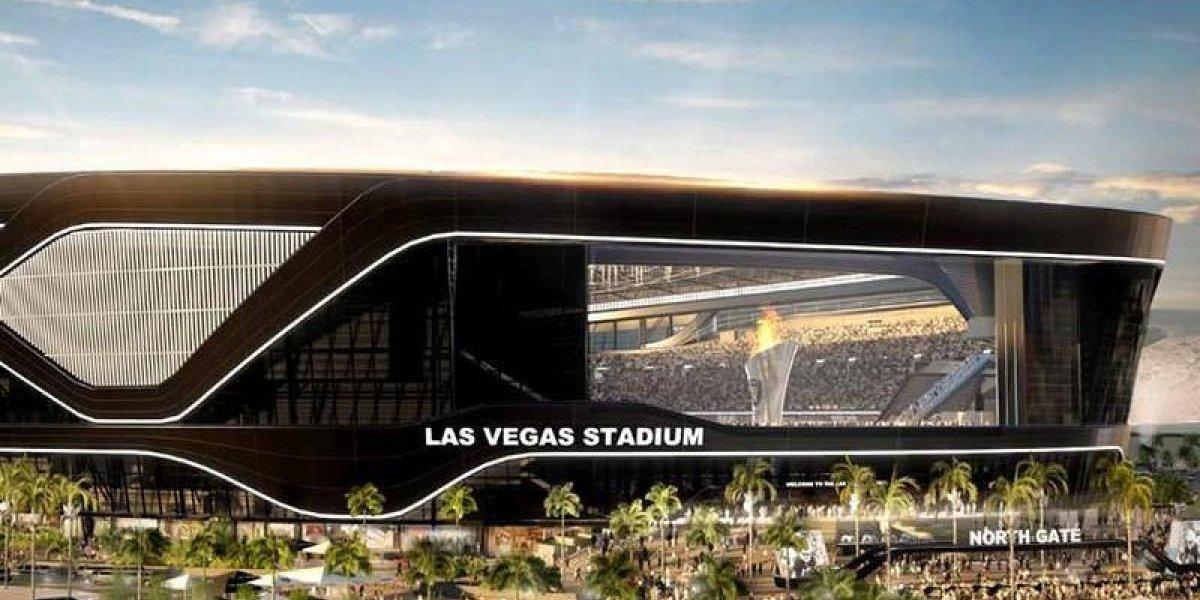 Raiders inician construcción de estadio en Las Vegas
