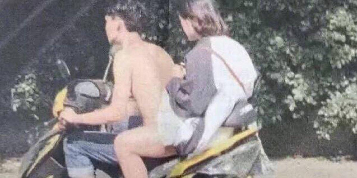 """""""Día 58, sigo viendo a un tipo desnudo"""": la foto a la que muchos aún no le encuentran una explicación"""