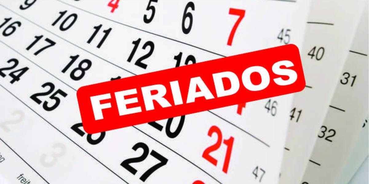 Lista de feriados en Ecuador para el 2018