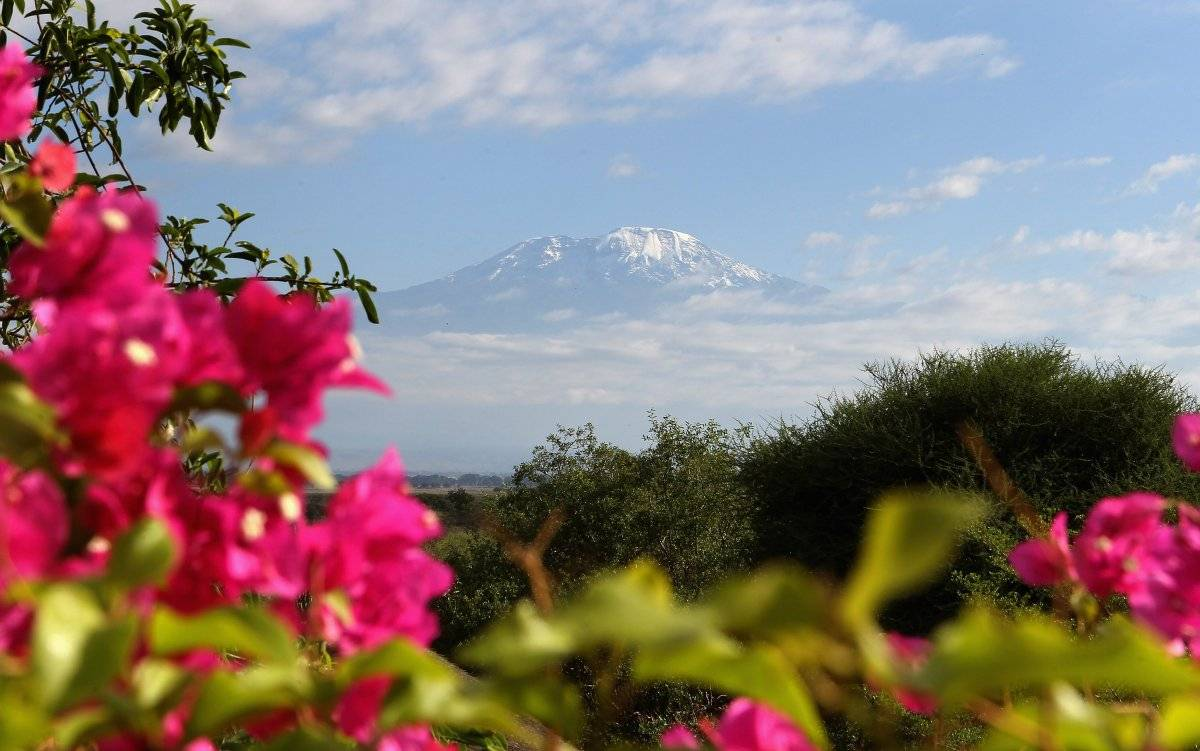 El Monte Kilimanjaro es un ícono natural de África.