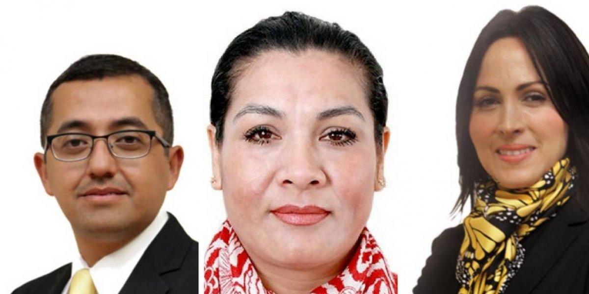 ¿Quiénes conforman la terna para suceder al delegado de Venustiano Carranza?