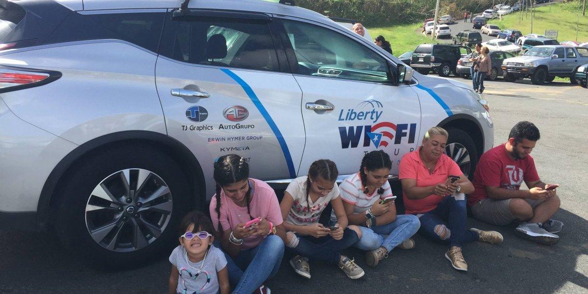 Liberty continúa su tour de WiFi gratis