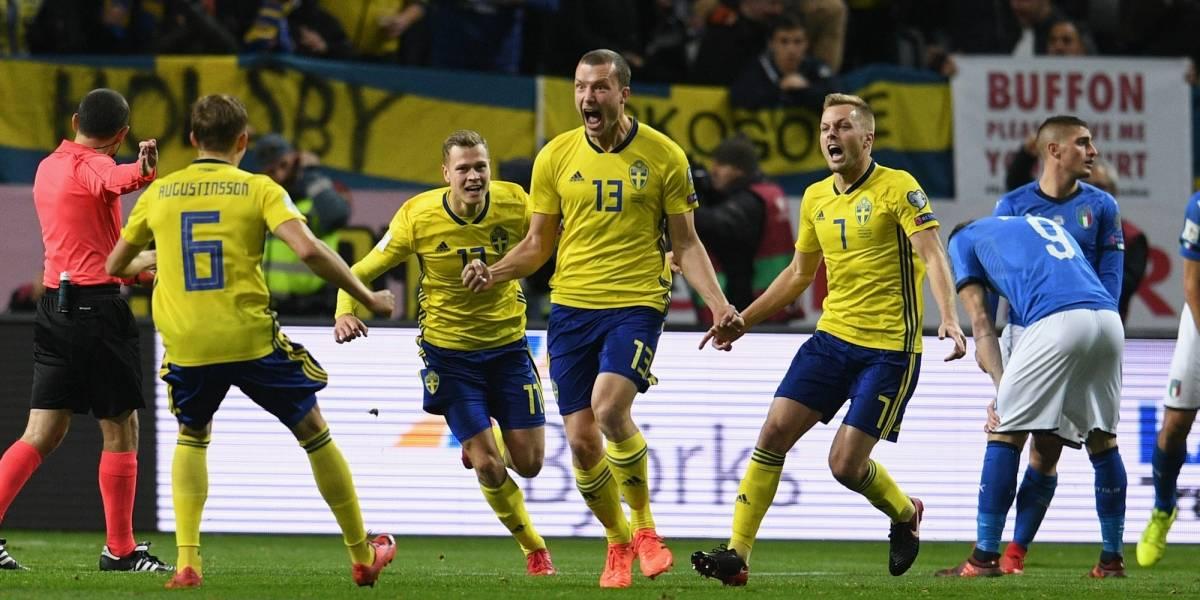 El héroe sueco ante Italia se perdería el Mundial de Rusia
