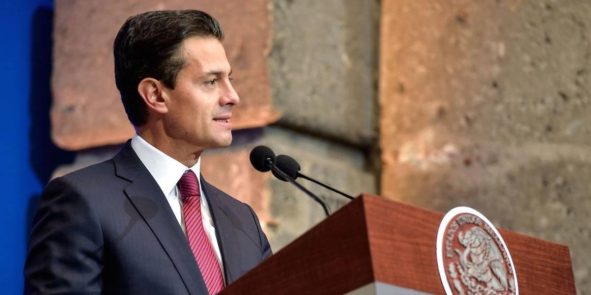 México trabaja para reducir la mortalidad por cáncer: Peña Nieto