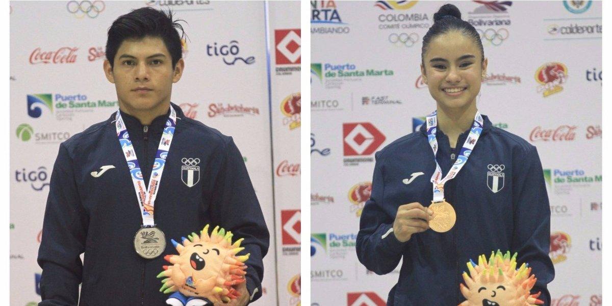 La gimnasia guatemalteca muestra su talento en los Bolivarianos