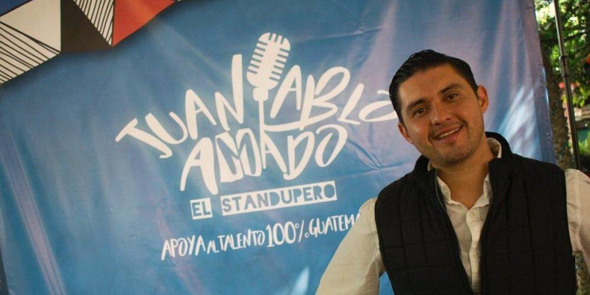 El guatemalteco Juan Pablo Amado busca romper un récord con el Show Stand Up Comedy más grande del país