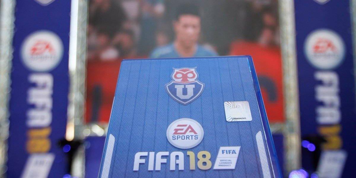 La U se hace virtual: estará en el videojuego FIFA hasta 2020
