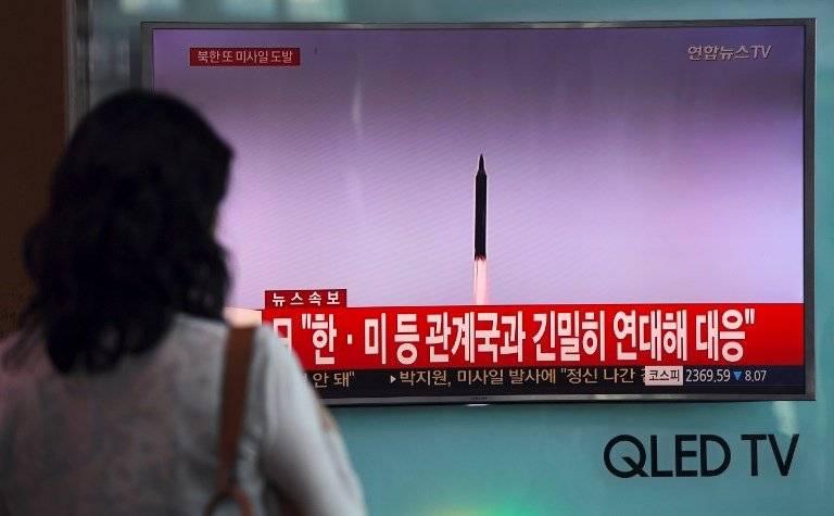 Lanzamiento de misil norcoreano