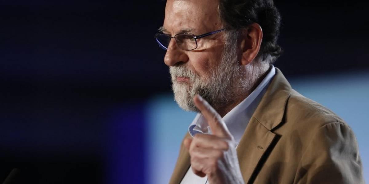 Rajoy dice que trabajará para que los independentistas pierdan en Cataluña