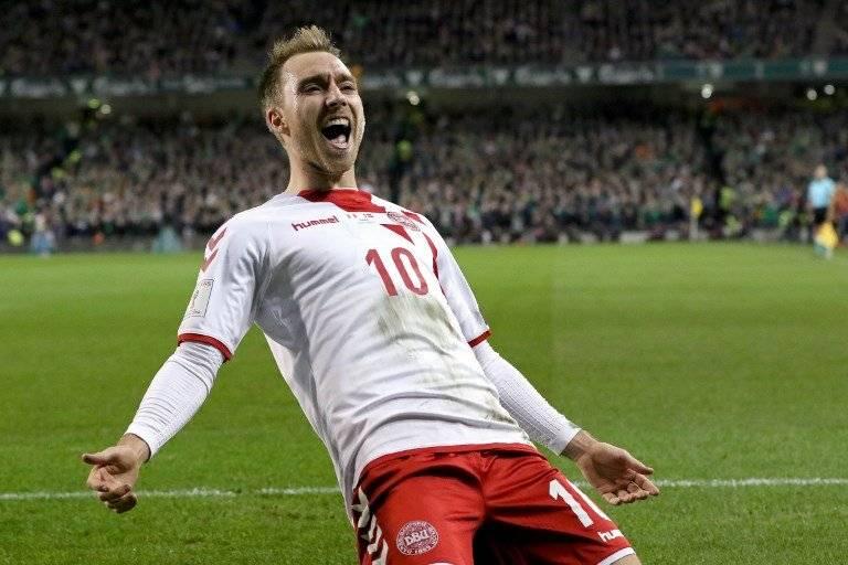 Gol de Christian Eriksen contra Irlanda