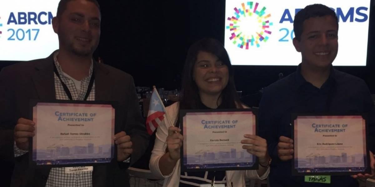 Estudiantes UPR Ponce triunfan en conferencia internacional de biomédica