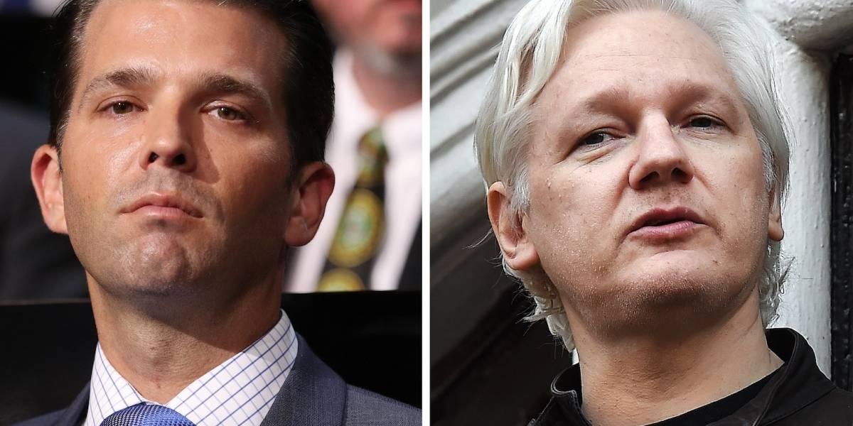 Trump Jr. y Wikileaks intercambiaron mensajes durante campaña