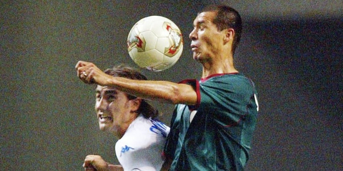 El gol que jamás olvidará Borgetti en su vida fue contra Buffon