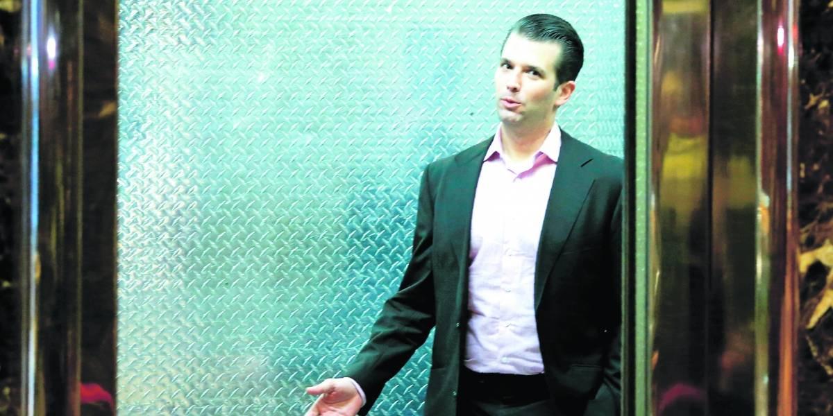 Trump Jr pone en problemas a su papá: tuvo contacto con Wikileaks