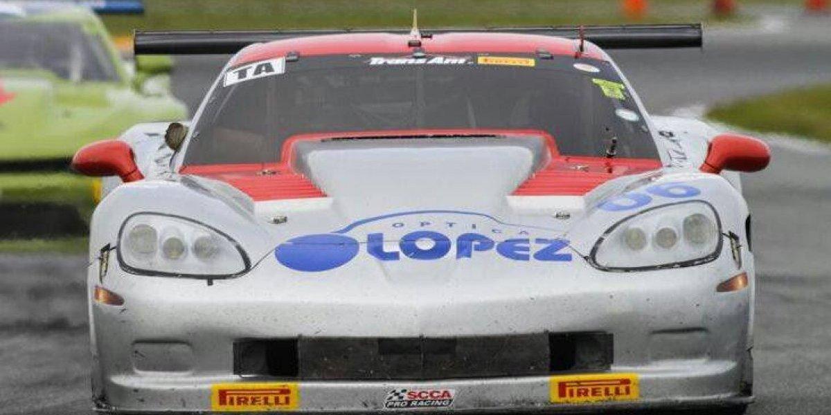RJ Lopéz se alza con el segundo lugar en Trans Am Daytona