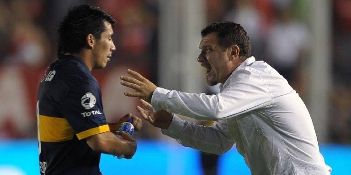 """Gary Medel volvió loco a los hinchas de Boca con """"parada de carro"""" a traductor turco"""