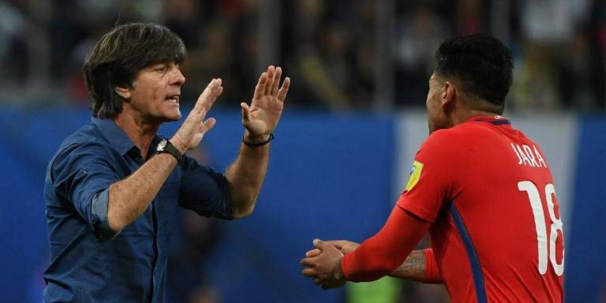 """Joachim Löw lo lamenta: """"Es triste que Chile no haya calificado al Mundial"""""""