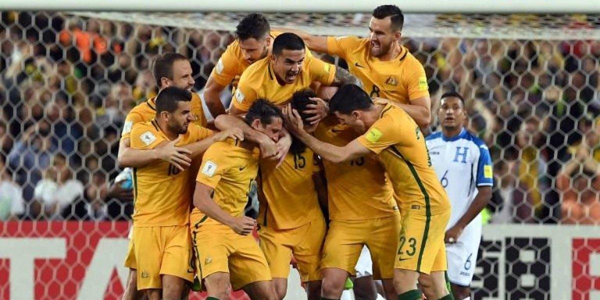 Australia gana el repechaje y se queda con una plaza en Rusia 2018