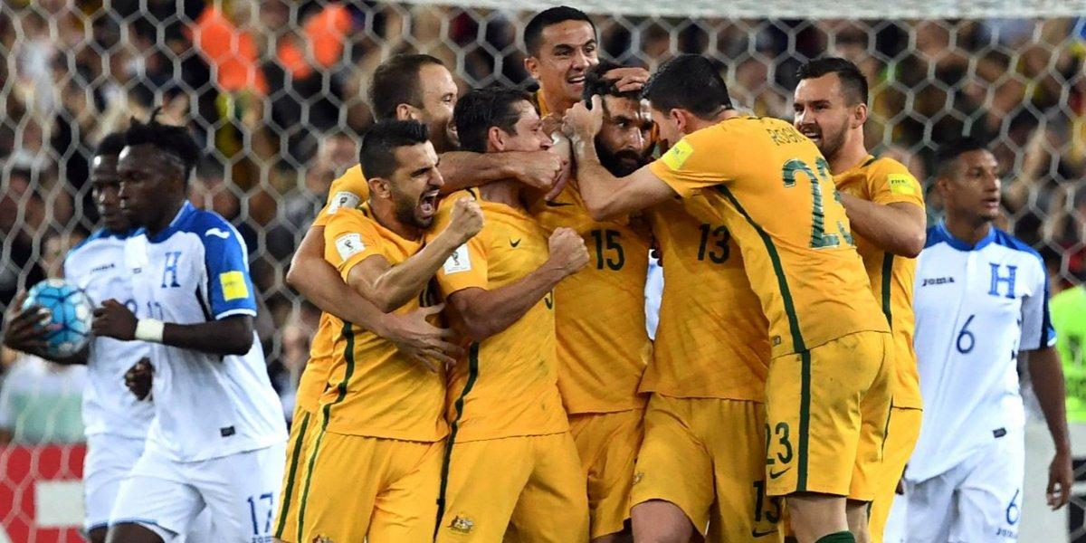 Australia se suma a la fiesta del Mundial y sólo queda un lugar para Rusia 2018