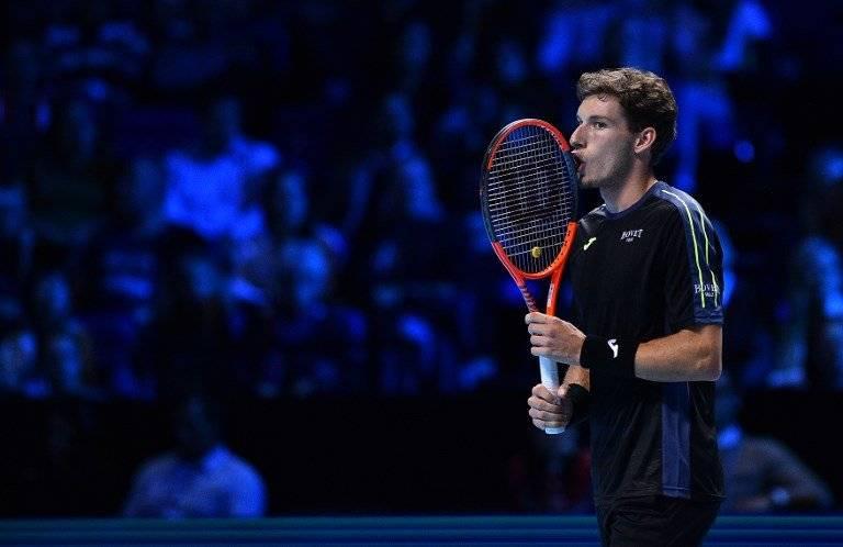 Carreño entró nervioso a su primer Masters / imagen: AFP