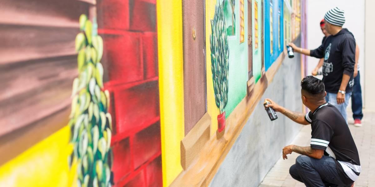 Las paredes hablan lo que el artista calla en Guayarte