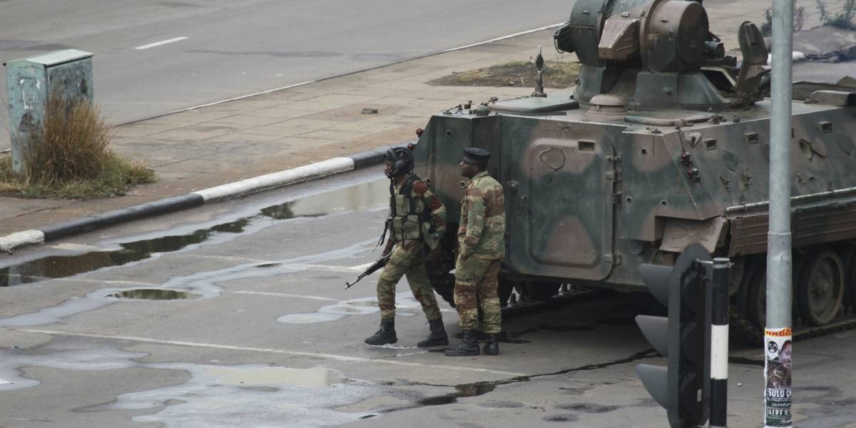 El régimen de Mugabe parece llegar a su fin
