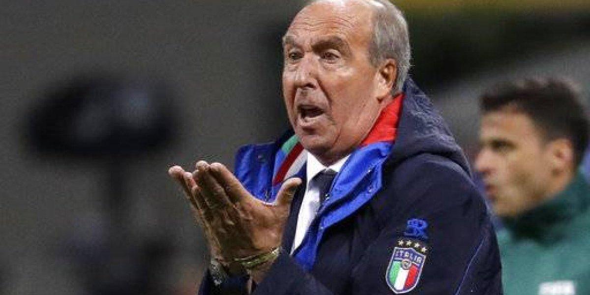 Italia despide a su técnico tras eliminación