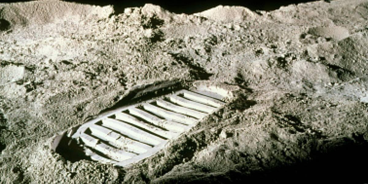 ¿Por qué hay un humano enterrado en la Luna?
