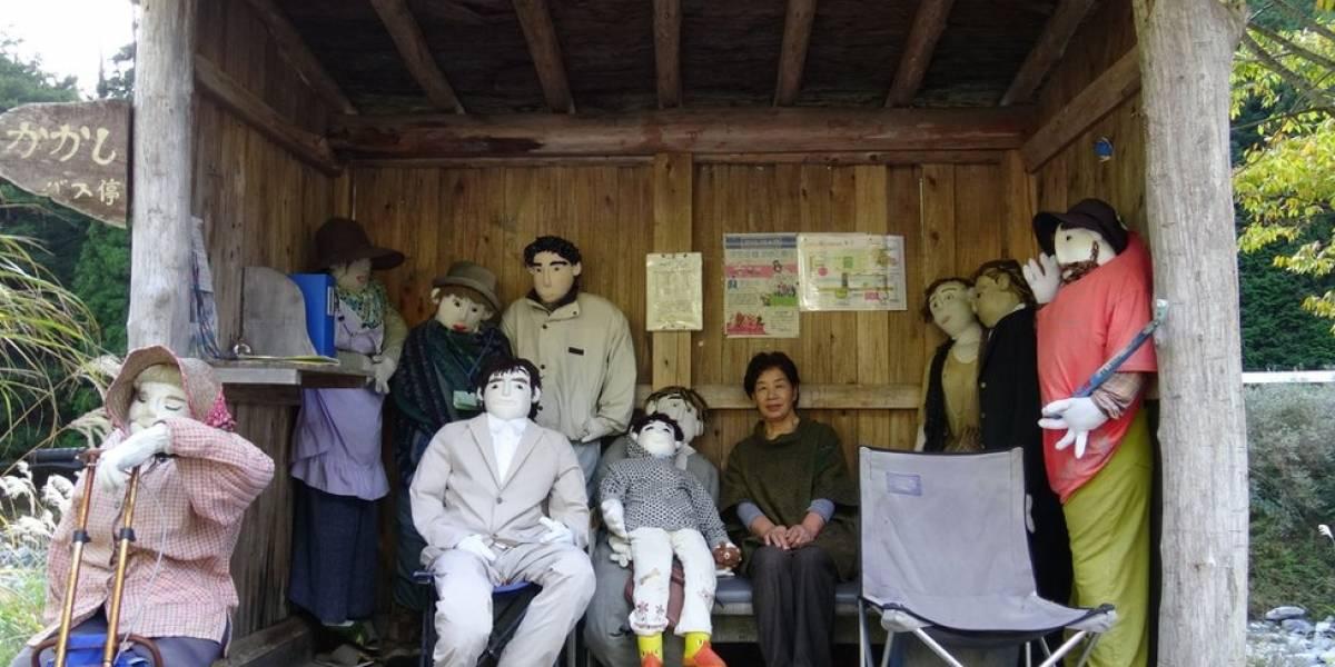 Nagoro, la misteriosa aldea de Japón donde los humanos que se van son reemplazados por muñecos