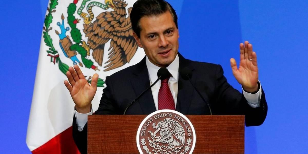 Enrique Peña Nieto exige respeto en medio de críticas de migración hechas por Trump