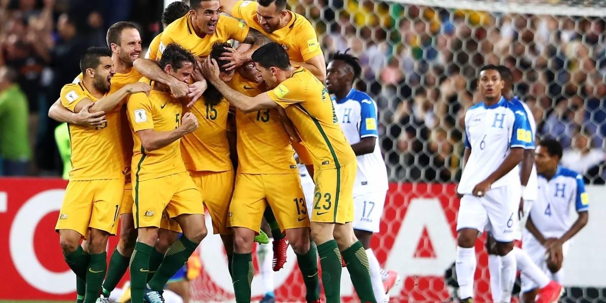 Rusia 2018: Australia golea a Honduras y acaba con el sueño mundialista de los catrachos