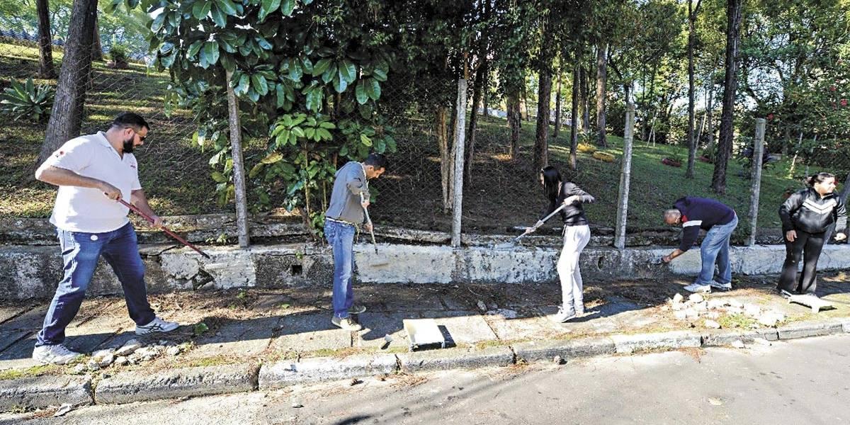 São Bernardo terá serviço de limpeza exclusivo para as pichações