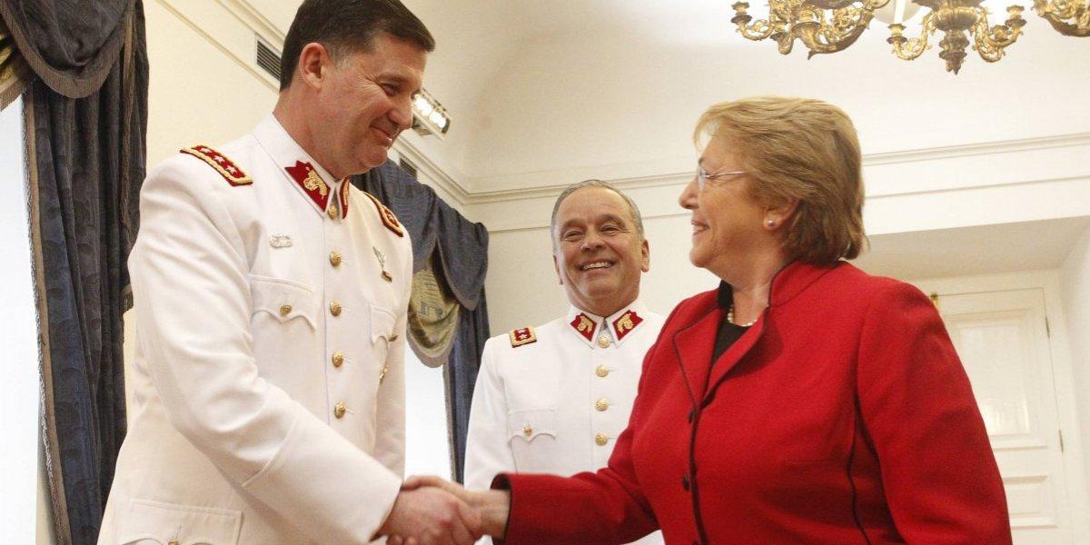 Michelle Bachelet designa nuevo comandante en jefe del Ejército