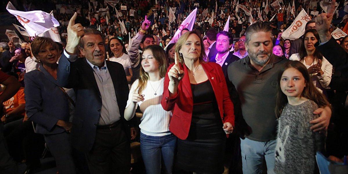 Goic cierra su campaña en Ñuñoa con presencia de ministros y de Eduardo Frei