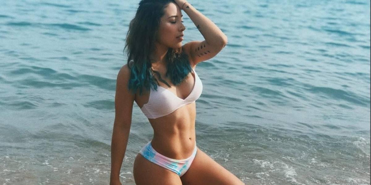 Critican a Luisa Fernanda W por foto desnuda con frase motivacional