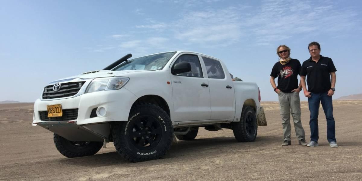 ¿Cómo se prepara un equipo colombiano para llegar al Rally Dakar?