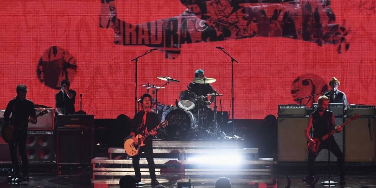 Green Day promete un concierto revolucionario en Colombia