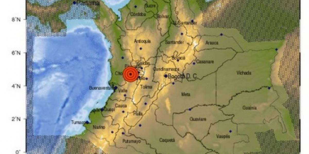 ¡Atención! Fuerte temblor se registró en Colombia